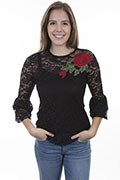 [Scully Honey Creek Lace Top w/Cami*]