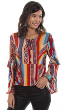 [Scully Honey Creek Ladies Blouse*]
