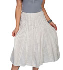 [Scully Honey Creek Ladies Eyelet Skirt]
