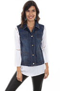 [Scully Honey Creek Denim Vest]