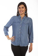 [Scully Honey Creek Ladies Western Blouse*]
