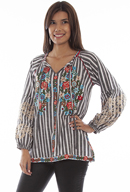 [Scully Honey Creek Embroidered Blouse*]