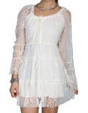 [Scully Honey Creek Ladies Lace Dress]