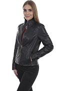 [Scully Lightweight Leather Jacket]