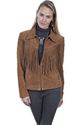 [Scully Boar Suede Fringe Jacket]