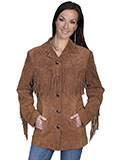 [Scully Western Fringe Jacket]