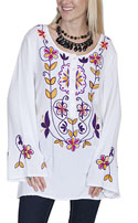 [Scully Limited Edition Apparel Ladies Embroidered Blouse]