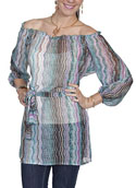 [Scully Limited Edition Apparel Ladies Tunic Blouse]