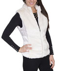 [Scully  Ladies Faux Fur Vest]
