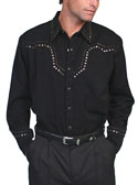 [Scully Westerns Western Studded Shirt]