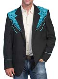 [Scully Westerns Gunfighter Jacket (Long)]