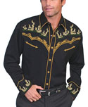 [Scully Westerns Western Desert Cactus Shirt]