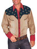 [Scully Westerns Western Liberty Shirt]