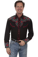 [Scully Westerns Sierra Rose Shirt]