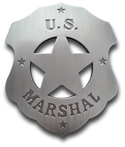[ U.S. Marshal Badge]