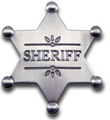 [ Sheriff Badge]