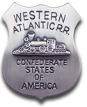 [ Western Atlantic R.R. / C.S.A. Badge]