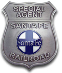 [ Railroad Police Badge]