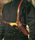 [Classic Old West Styles - Huckleberry Shoulder Rig]
