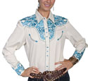 [Scully Westerns Lady Gunfighter Blouse]