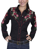 [Scully Westerns Lady Desert Bloom Blouse]