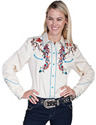 [Scully Westerns Western Pretty Ponie Blouse]