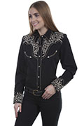 [Scully Westerns Cottonwood Blouse]