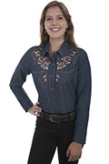 [Scully Westerns Desert Bloom Blouse]