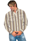 [Scully Contemporary Westerns Rawlings Stripe Shirt]