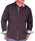[Scully Signature  Smokey Hills Shirt]
