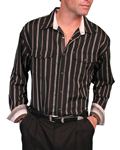 [Scully Signature  Ironside Stripe Shirt]