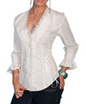 [Scully Honey Creek Marion Lace Blouse]