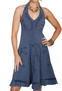 [Scully Cantina Collection Cantina Halter Dress]