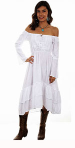 [Scully Honey Creek Long Peasant Dress *]