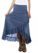 [Scully Cantina Tiered Skirt* ]