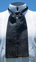 [Scully Silk Puff Tie]
