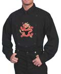[Scully Dragon Bib Shirt]