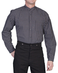 [Scully Rangewear Leland Stripe Shirt (Big)]