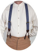 [Scully Rangewear Y-back Suspenders ]