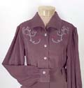 [Scully Rangewear Charlotte Suede Blouse]