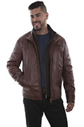 [Scully Leather Jacket]