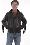 [Scully Frnge Motorcycle Jacket]
