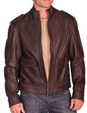 [Scully Men's Leather Jacket]