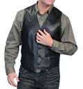 [Scully Leather Vest (Big)]