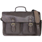 [Scully Western Lifestyle Leather Two Gusset Workbag ]