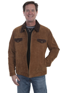 [Scully Suede Concealed Carry Jacket]