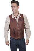 [Scully Leather Vest Big)]