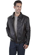 [Scully Western Leather Jacket (Big)]