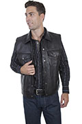 [Scully Leather Concealed Carry Vest (Big)]