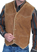 [Scully Suede Hunting Vest]
